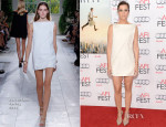 Kristen Wiig In Balenciaga - 'The Secret Life of Walter Mitty' AFI FEST Premiere