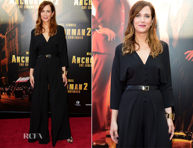 Kristen Wiig In Martin Grant - 'Anchorman 2 The Legend Continues' Sydney Premiere