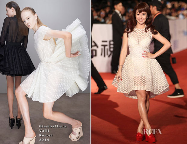 Kuo Shu-yao In Giambattista Valli - 50th Golden Horse Awards