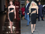 Lady Gaga In Atelier Versace - Out In New York City