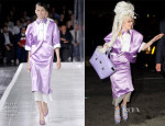 Lady Gaga In Prabal Gurung - Out In New York City
