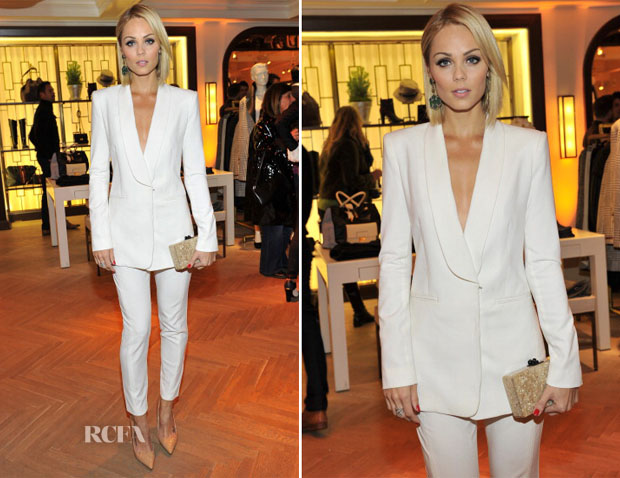 Laura Vandervoort In BCBG Max Azia  -  Tommy Hilfiger And PS ARTS celebrate the Cameron Silver Vintage Capsule Collection