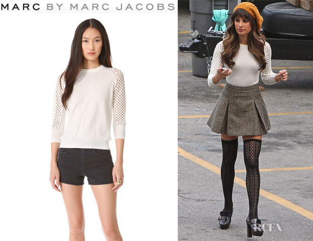 Lea Michele's Marc by Marc Jacobs 'Cienaga' Sweater
