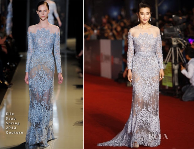 Li Bingbing In Elie Saab Couture - 50th Golden Horse Awards