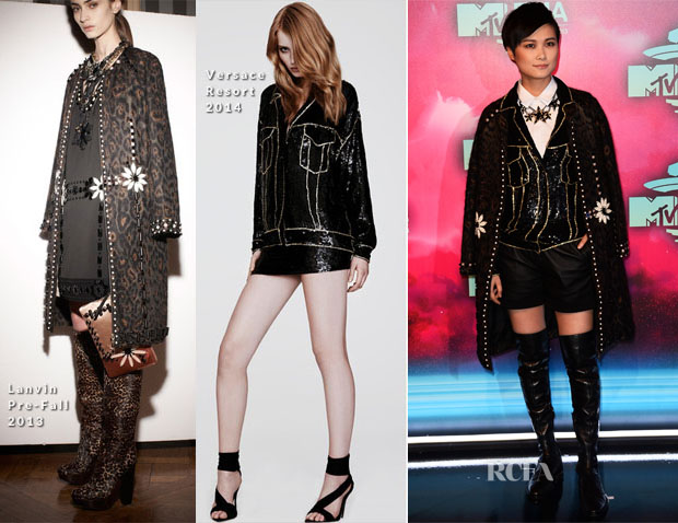Li Yuchun In Lanvin & Versace - MTV EMAs