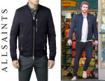Liam Hemsworth's All Saints 'Wyatt' Bomber Jacket