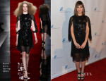 Lizzy Caplan In Reem Acra - Saban Community Clinic 37th Annual Benefit Gala