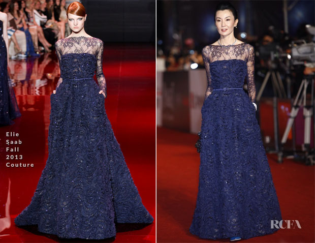 Maggie Cheung In Elie Saab Couture - 50th Golden Horse Awards