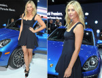 Maria Sharapova In Alexander McQueen - Porsche Macan World Premiere