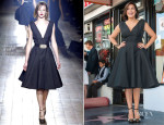 Mariska Hargitay In Lanvin - Hollywood Walk of Fame Unveiling