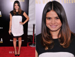 Melonie Diaz In J. Mendel - 'Mandela: Long Walk To Freedom' Special New York Screening