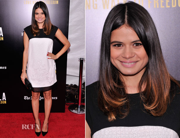 Melonie Diaz In J Mendel - 'Mandela Long Walk To Freedom' Special New York Screening