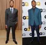 Michael B. Jordan In Louis Vuitton & Prada - GQ Dinner & Men Of The Year Party