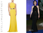 Michelle Dockery's Stella McCartney Sleeveless Gown
