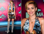 Miley Cyrus In NY Vintage - 2013 MTV EMAs