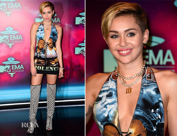 Miley Cyrus - 2013 MTV EMAs
