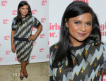 Mindy Kaling In Kenzo - Girls Inc. Los Angeles Celebration Luncheon
