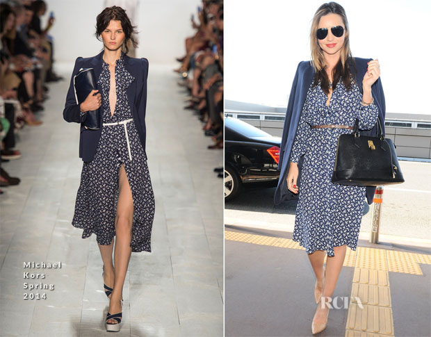 Miranda Kerr In Michael Kors - JFK