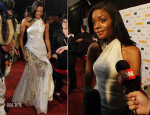 Naomie Harris In Donna Karan Atelier - 'Mandela, Long Walk to Freedom' Johannesburg Premiere