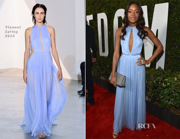 Naomie Harris In Vionnet - 'Mandela Long Walk To Freedom' LA Premiere