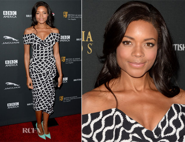 Naomie Harris In Vivienne Westwood Gold Label - 2013 BAFTA LA Jaguar Britannia Awards