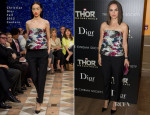 Natalie Portman In Christian Dior Couture - 'Thor: The Dark World' New York Screening