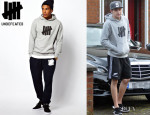 Niall Horan's Undefeated Hooded Sweatshirt