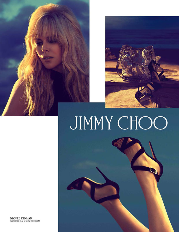 Nicole Kidman for Jimmy Choo Cruise 2014