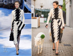 Nieves Alvarez In Christian Dior – Woolmark's 'Campaña por la Lana' Campaign Promotion