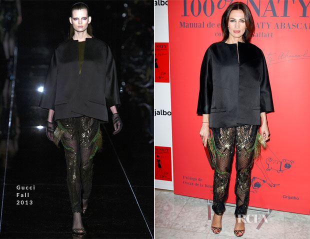 Nieves Alvarez In Gucci - 'Naty Abascal' Book Presentation