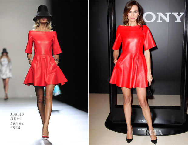 Nieves Alvarez In Juanjo Oliva  - 'XX' Fashion Film Presentation