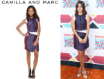 Nikki Reed's Camilla and Marc 'Invocation' Dress