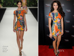 Nina Dobrev In Naeem Khan - The Vampire Diaries 100th Episode Celebration