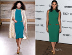 Olivia Munn In L'Wren Scott - Harper's Bazaar Women Of The Year Awards 2013