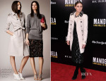 Olivia Palermo In Burberry Prorsum - 'Mandela: Long Walk To Freedom' Special New York Screening