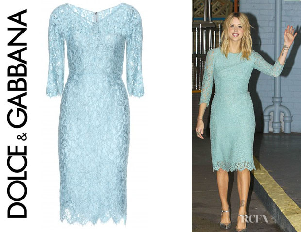 Peaches Geldof's Dolce & Gabbana Lace Dress