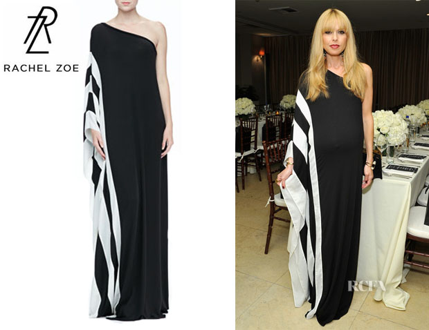 Rachel Zoe's Rachel Zoe 'Azur' One-Shoulder Maxi Dress