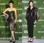 Rinko Kikuchi and Rila Fukushima In Michael Kors - Michael Kors/Elle Japan Event #MKTOKYO
