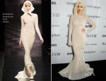 Rita Ora In Ermanno Scervino - Harper's Bazaar Woman Of The Year Awards 2013