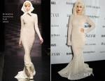 Rita Ora In Ermanno Scervino - Harper's Bazaar Woman Of The Year Awards 2013