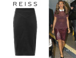 Rochelle Humes' Reiss 'Shannon' Pencil Skirt