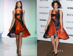 Ruth Wilson In Peter Pilotto - Harper's Bazaar Woman Of The Year Awards 2013