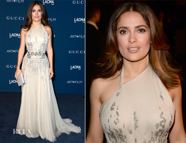 Salma Hayek In Gucci - LACMA Art + Film Gala 2013