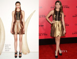 Sarah Hyland In Sass & Bide - 'The Hunger Games: Catching Fire' LA Premiere