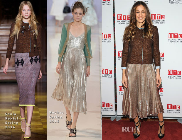 Sarah Jessica Parker In Rochas & Sonia Rykiel  - 'The Commons Of Pensacola' Opening Night