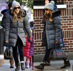 Sarah Jessica Parker Rocks Her Fendi 'Adele 1328′ Bag
