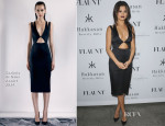Selena Gomez In Cushnie et Ochs - Flaunt Magazine En Garde! Issue Launch Party