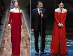 Shu Qi In Valentino – 50th Golden Horse Awards
