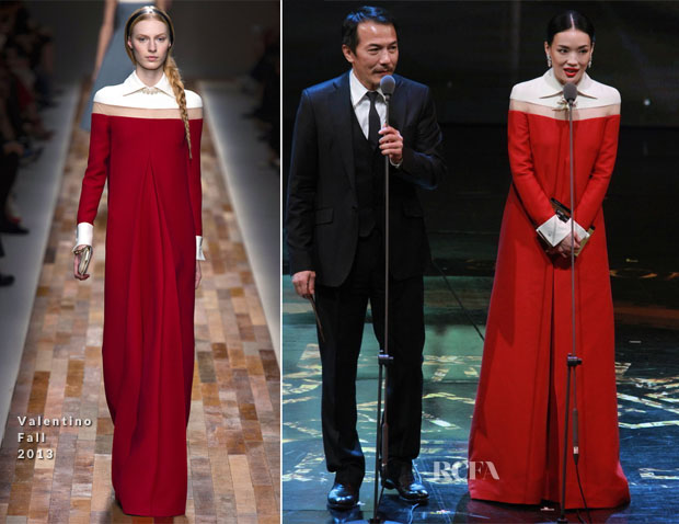 Shu Qi In Valentino – 50th Golden Horse Awards