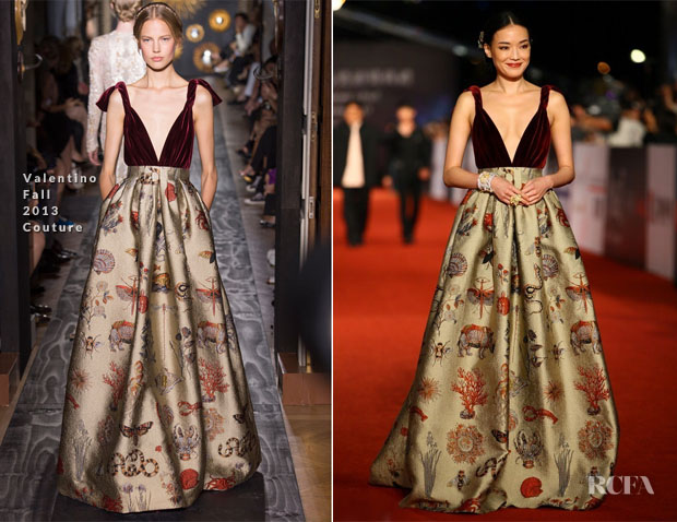 Shu Qi In Valentino Couture - 50th Golden Horse Awards